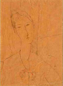 Modigliani Amedeo drawing